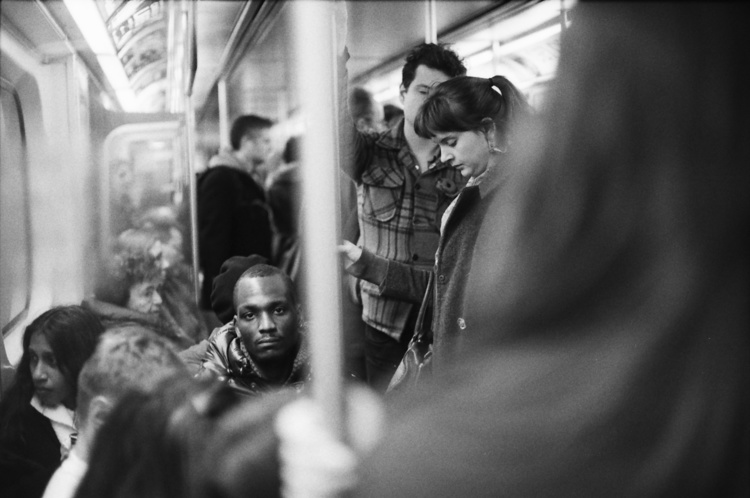 Man on the Subway - Dante Guthrie