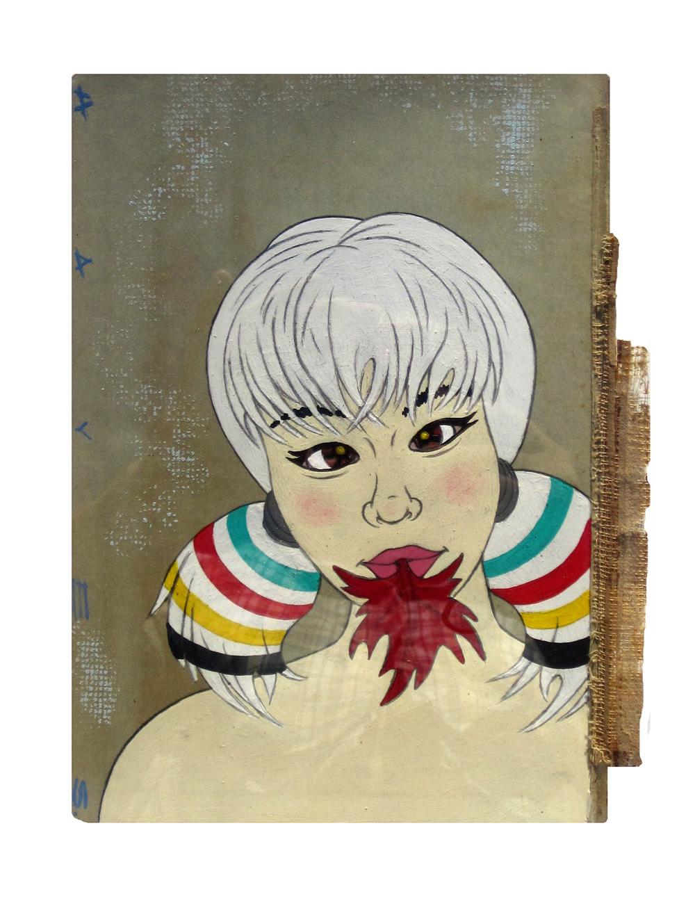 Bay Blanket Girl 1 - Christopher Hayes
